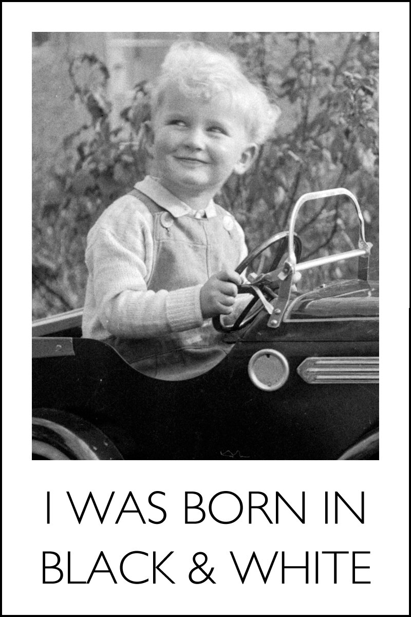 me in a pedal car circa 1953