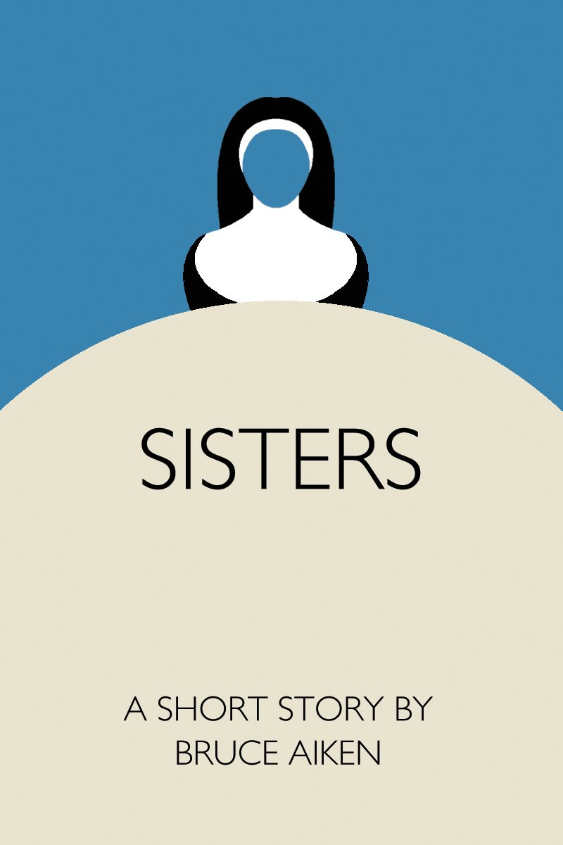book cover for short story - sisters