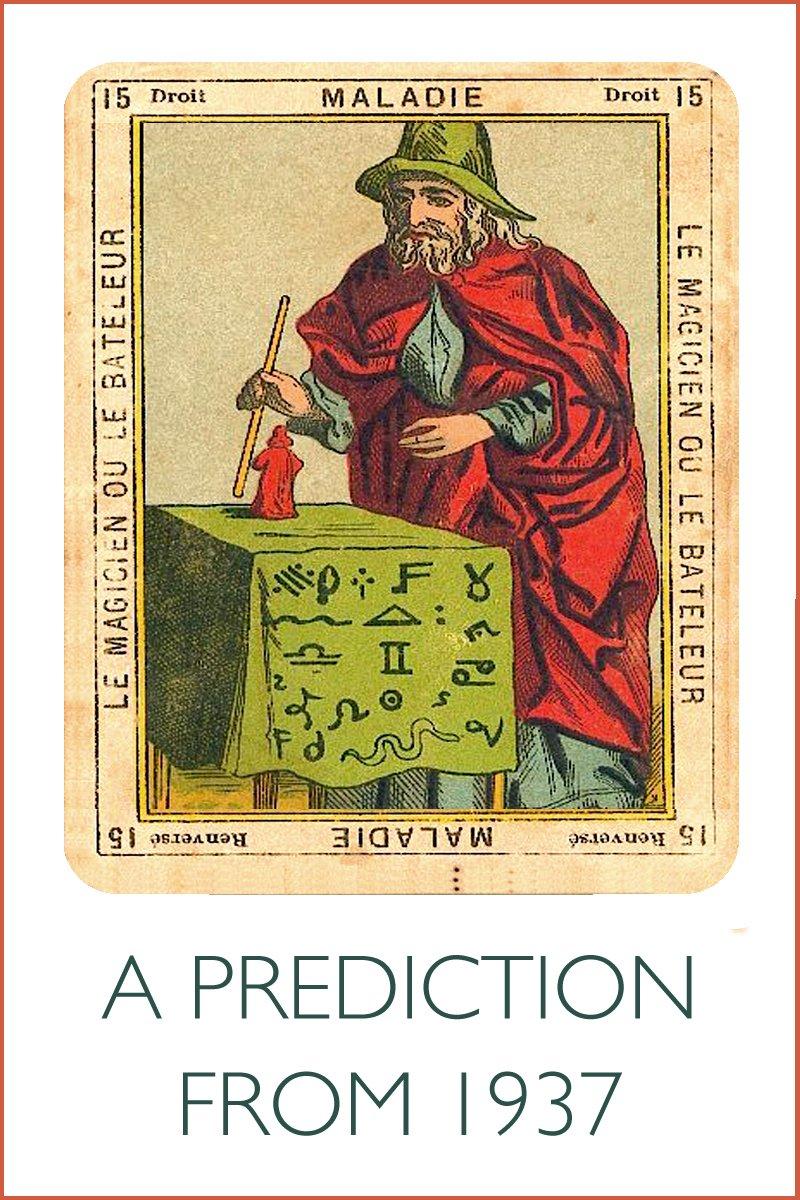 a tarot card for the magician