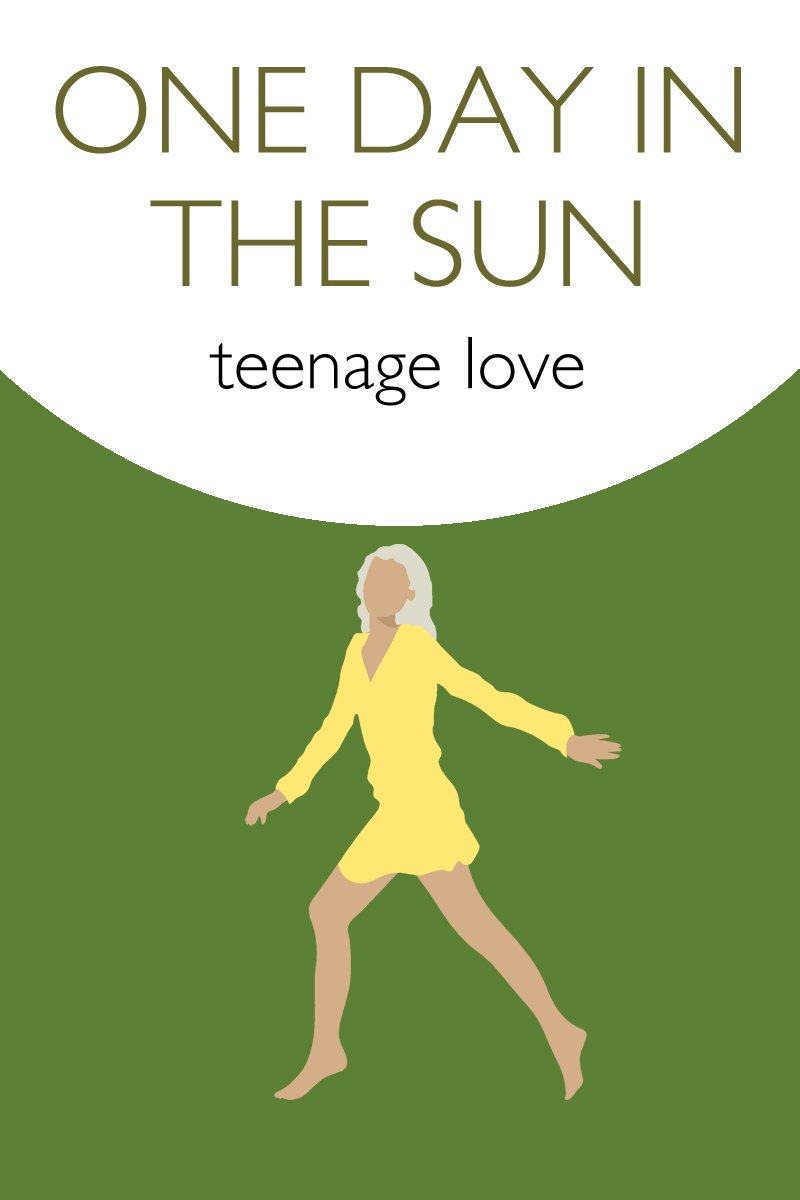 image of young woman for poem - one day in the sun