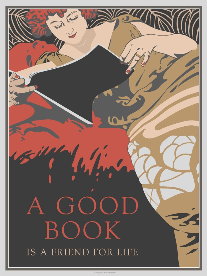 poster a good book