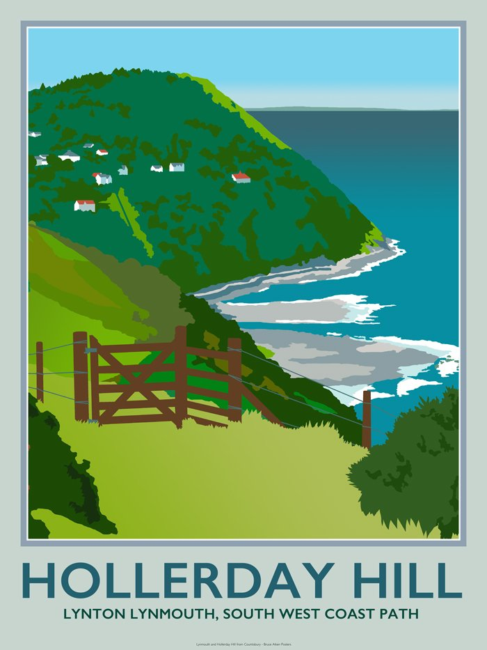 poster of hollerday hill