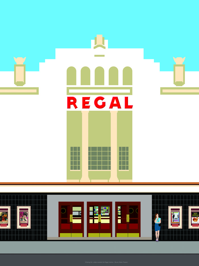 poster of the regal cinema 1960s