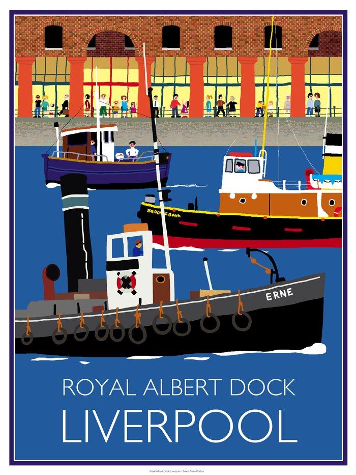 poster of royal albert dock