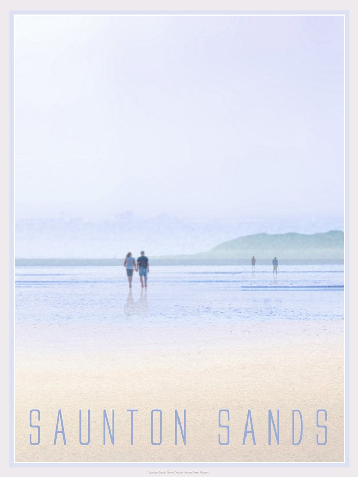 poster of saunton sands