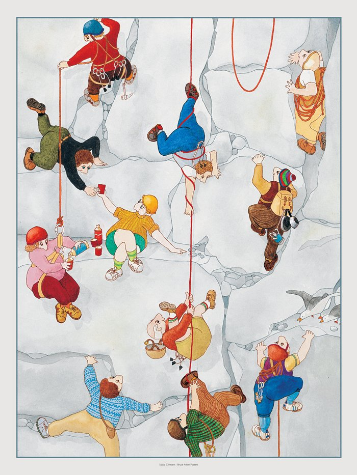 poster of social climbers