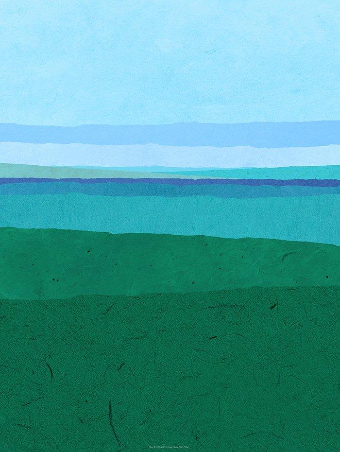 Montage of landscape or seascape